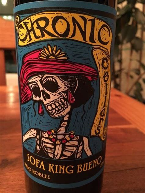 Sofa King Bueno 2015 by 2015 Chronic Cellars Sofa King Bueno Usa California