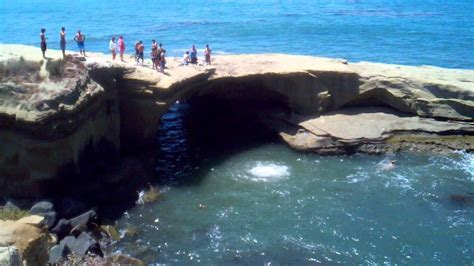 Cliff Diving Sunset Cliffs San Diego Youtube