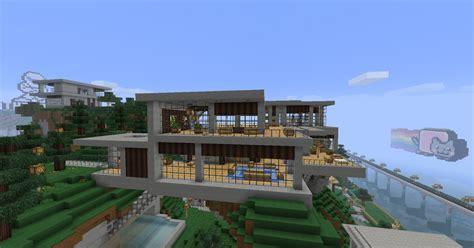 House Plans And Design Modern House Design Minecraft