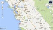 Google California Map