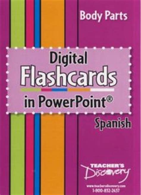 Body Parts Digital Flashcards In Powerpoint Spanish Price, Review And Buy In Kuwait, Alexandria