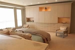 Dressing Autour Du Lit : built in pax wardrobe bedroom contemporary with display ~ Premium-room.com Idées de Décoration
