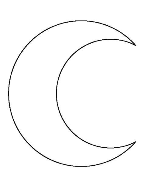 moon template halbmond vorlage applikationen halbmonde vorlagen und sonne mond