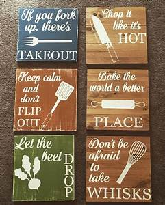The 25 best ideas about funny kitchen signs on pinterest for Kitchen colors with white cabinets with funny wall art quotes