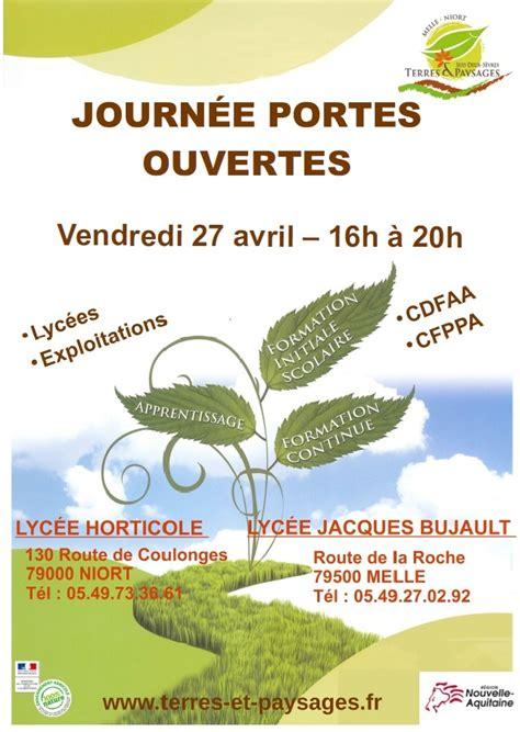 journees portes ouvertes au lycee horticole mairie de niort