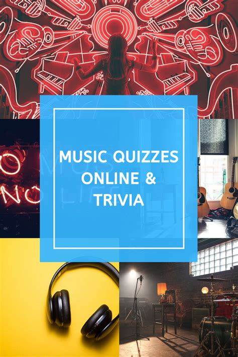 Take free music quizzes about famous songs, singers, and genres. Music Quizzes & Trivia in 2020 | Online trivia, Music trivia, Trivia