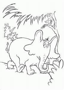 Horton Hears A Who Coloring Pages - ColoringPagesABC.com