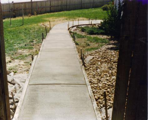 concrete walkway contractors d l contractors