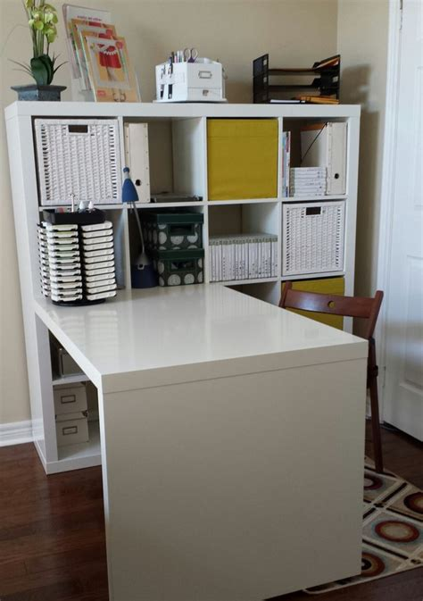ikea expedit bureau 25 best ideas about craft room organizing on