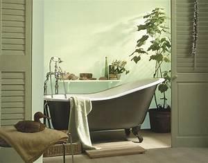 Quelle Peinture Pour Salle De Bain : quelle peinture pour sa salle de bain astuces d co ~ Dailycaller-alerts.com Idées de Décoration