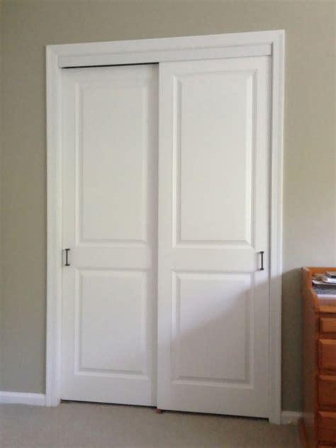 sliding closet doors wooden closet ideas