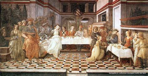 Banchetto Di Erode by Filippo Lippi Banchetto Di Erode Duomo Prato Tanogabo