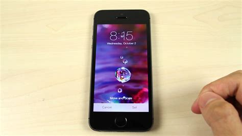 to change iphone 5s screen how to change the home screen and lock screen wallpaper on