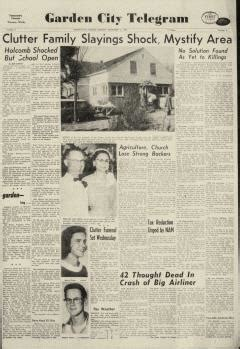 Garden City Telegram Obituary by Garden City Telegram Newspaper Archives Nov 16 1959
