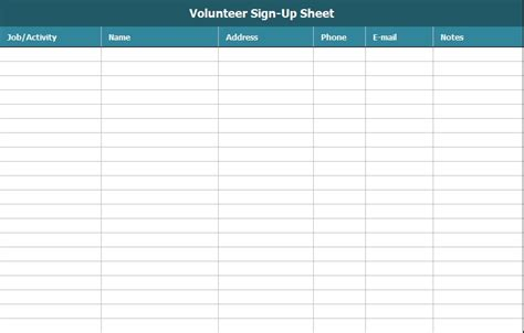 sign  sheet template excel  word excel tmp