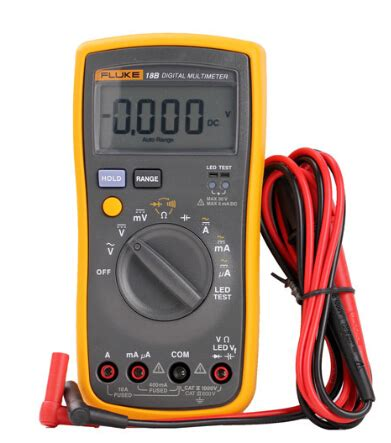 fast arrival fluke  fb ac dc voltage current