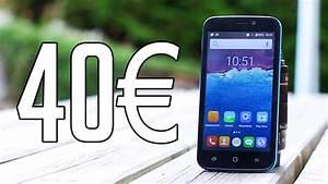 Telephone A 1 Euro : test d 39 un smartphone 40 youtube ~ Melissatoandfro.com Idées de Décoration