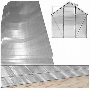 Plaque Polycarbonate Alvéolaire 4mm : plaque de polycarbonate pour serre 4mm d 39 paisseur 10 25 ~ Dailycaller-alerts.com Idées de Décoration