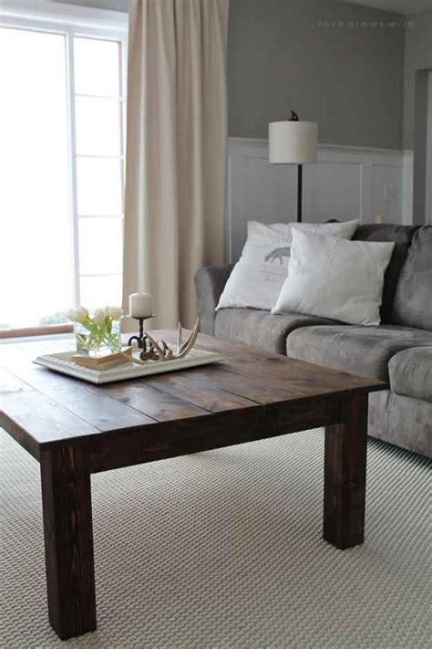 rustic furniture projects diy projects craft ideas