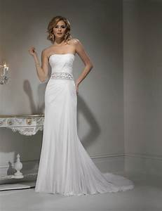Grecian gown dressed up girl for Grecian style wedding dresses
