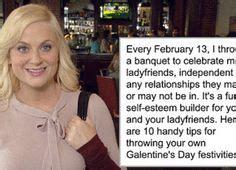 Leslie Knope / Galentine's Day / #ParksandRec | Happy ...
