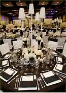 Table Decorations Black And White Theme Selection Of Photos Of Black And White Weddings Please See Here