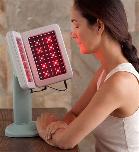 deep penetrating light therapy red light therapy device skin and make up pinterest