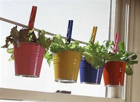 indoor container garden for herbs creating a midwest