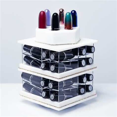 tour de rangement maquillage rangement pour 224 levres en acrylique