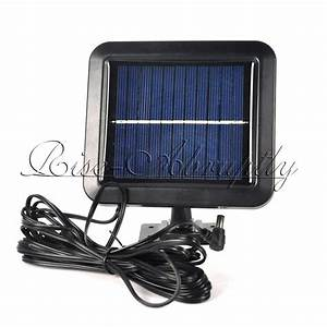 Led motion sensor solar powered outdoor garden security