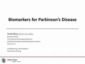 Biomarkers for Parkinson's Diseases