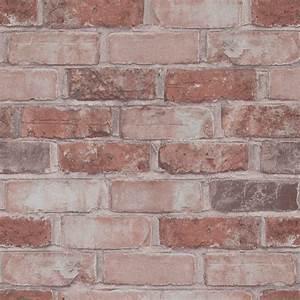 Masala Running Brick Wallpaper