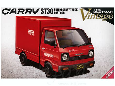 Mitsubishi T120ss Picture by 1 24 Suzuki Carry Truck St30 Mail Truck By Aoshima