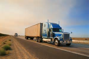 summer sale truck on freeway nagle