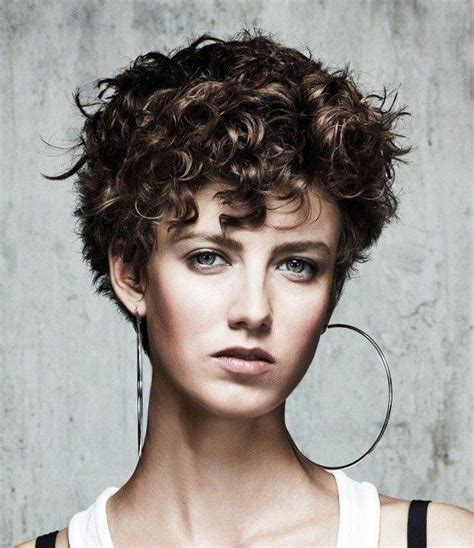 25+ best ideas about Short curly hairstyles on Pinterest