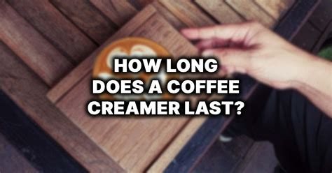 Storing your legumes for as long as you can in a proper container and maintaining your coffee in whole bean form is equally essential before grinding it and turning into a java cup. How Long Does Coffee Creamer Last? - When Does It Go Bad?