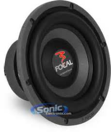focal     dual  ohm polyglass car subwoofer