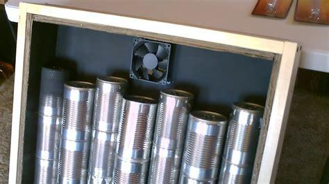 solar air heater diy homemade steel  air heater quickview wcloseups youtube