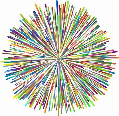 Fireworks Background Clipart Clear Transparent Prismatic Backgrounds