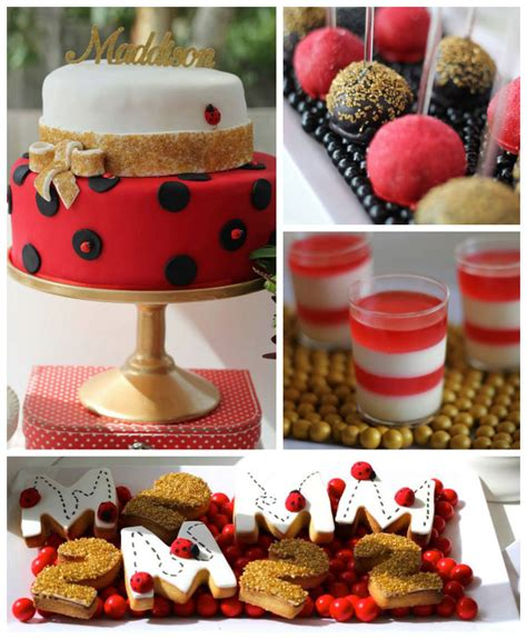 Cute Wedding Decorations by Kara S Party Ideas Ladybug Themed Birthday Party Planning