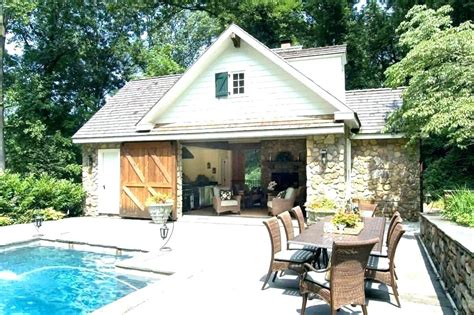 Pool House Plans Beautiful Small Pool House Plans Pool