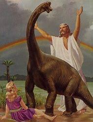 Jesus and Dinosaur Meme