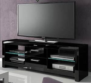 Meuble Tv Hifi : conforama chaises salle a manger 14 meuble tv noir avec led meubles tv hifi vid233o meubles ~ Teatrodelosmanantiales.com Idées de Décoration