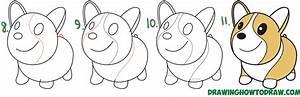 How to Draw a Cute Corgi (Cartoon / Kawaii / Chibi) Easy ...
