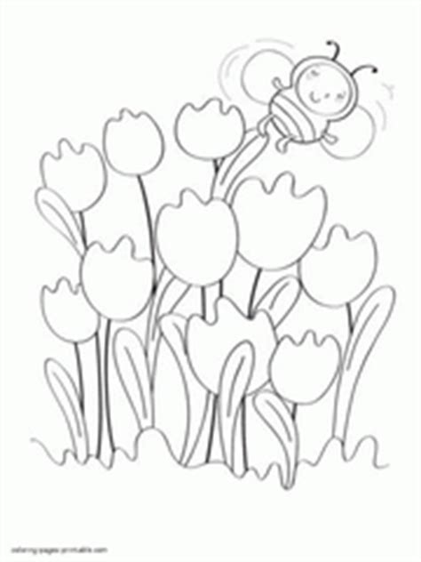 spring coloring pages  printable sheets  kids