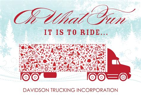 Trucking Along Holiday Card By Brookhollow Business Card Measurements Indesign Luxury Metal Holder Design Accountant Layout Pdf Template Ideas Ams Maker 9.15 Crack 3l Luggage Tags Templates For Hvac