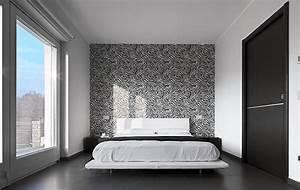 Tapisser Avec 2 Papiers Differents : comment d corer sa chambre coucher 5 alternatives d co au mur ordinaire blogue de matelas ~ Nature-et-papiers.com Idées de Décoration