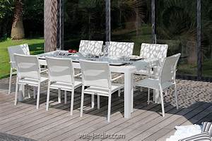 Table A Manger Jardin : grande table de jardin extensible 330cm touch de talenti ~ Melissatoandfro.com Idées de Décoration