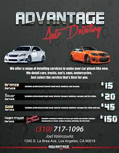 car wash poster template free - advantage auto detaili on doc auto detailing flyer