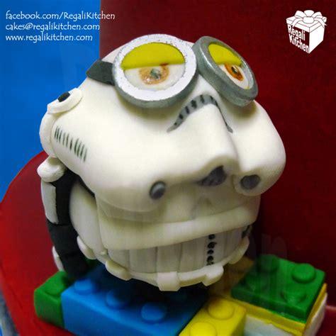 lego star wars minions cake  john